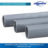 Wholesale high quality water pvc drainage pipe