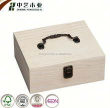Accept OEM Trade Assuranc Custom Wood wooden essential oil box