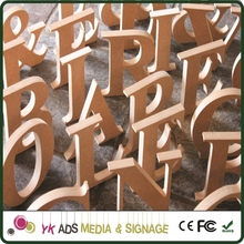 wood alphabet letters Customized Size
