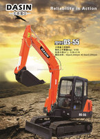 Construction and digging machine mini loaders crawler excavator prices