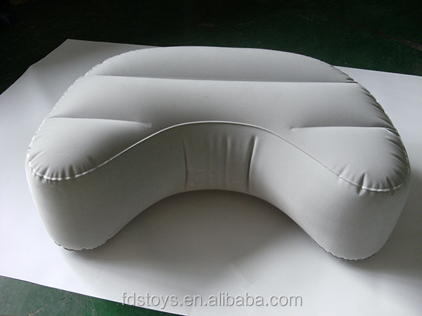 high quality inflatable flocking cushion