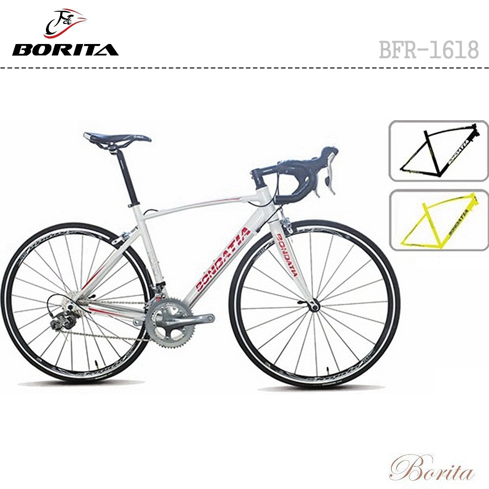 Hot Sale 700C Chinese Racing Road Bike BFR-1618 Carbon Front Fork Road Bike