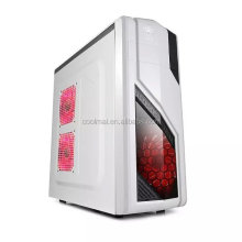 computer case full white desktop computer case gaming ATX case with usb3.0