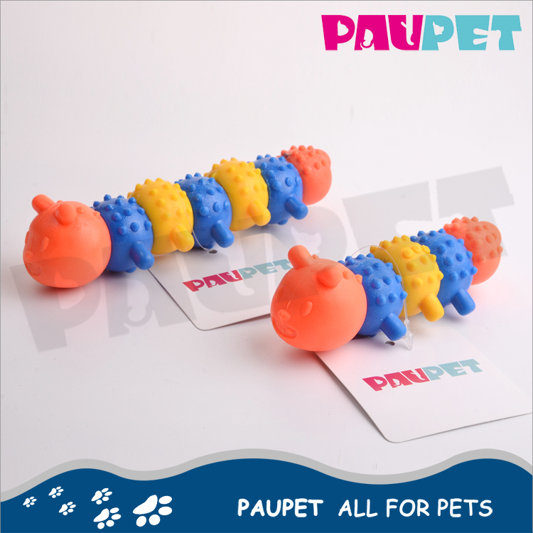 Fine appearance fashion rubber spike dog ball plastic animal toys