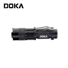 Most High Power Style Aluminum alloy Zoom Rechargeable vibrating flashlight