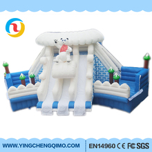 2017 chinese manufacturer pvc outdoor giant inflatable water slide clearance for sale