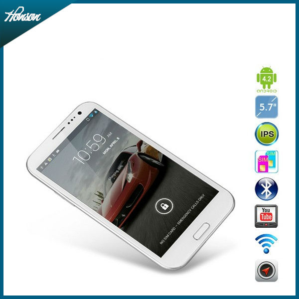 5.7'' IPS THL W7 MTK6589 Quad core Smartphone 1280x720 HD Screen 8MP Camera Dual sim cards Build-in GPS