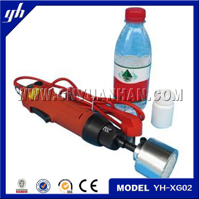Plastic cap screw capping machine/ bottle capping tool