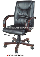 Racing style office chair parts with armrest and locking wheels design