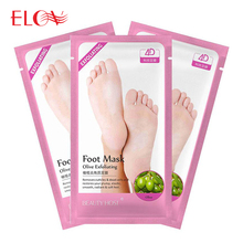 Wholesale OEM Moisturizing Exfoliating Peeling Foot Mask For Sale
