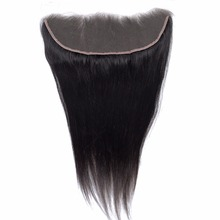 wholesale unprocessed natural raw Brazilian hair 13X4 lace front closure