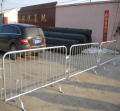 Heavy Duty 2.3m Round-Top Fixed Leg Pedestrian Event Crowd Control Barriers