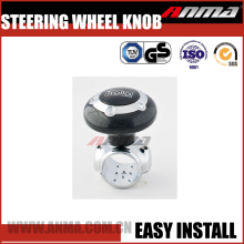 Fashionable and universal metal car steering wheel spinner knob
