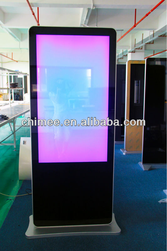 "55"" vertical lcd led monitor with all-in-one computer"