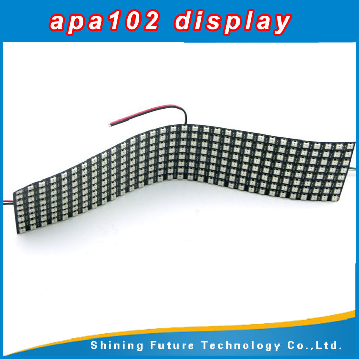 shenzhen APA102 Display wearable led display for advertising flexible led display price