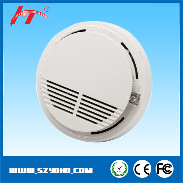 Cheapest price house smoke detector for security guard with alarm function (NC)