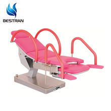 BT-GC007 Cheap hospital Electric Gynecology Chair, obstetric exam table with armrest for sale