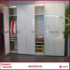 2016 New Deaigns Customized Hinge And Sliding Door Wardrobe With Mirror