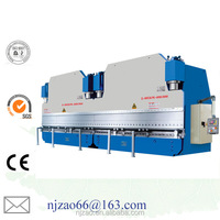 cn metal sheet bender 125t/2500 bending machine