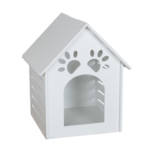 Factory supplier handmade durable plastic dog kennel water resistant outdoor wooden dog kennel
