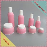2016 good sell Bangkok market 4oz pink color plastic bottle,pink cosmetic packaging asia,cosmetic packaging and containers