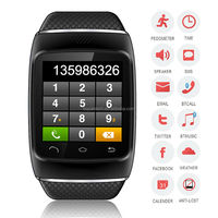 2014 new fashion touch screen cheap smart vogue watch bluetooth phone