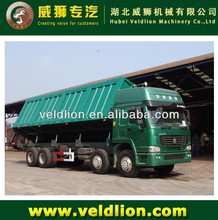 New type 30-40ton Side tipping 12-wheel dump truck