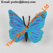 Small plastic pvc flying insect toy