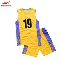 China made wholdsale sublimation cheap basket ball jersey
