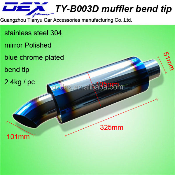 Tianyu DEX auto tuning exhaust pipe racing muffler