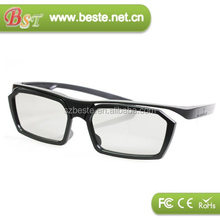 plastic linear polarized 3d-glasses,passive 3d glasses