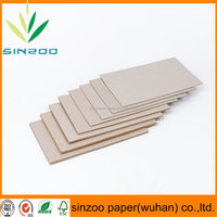 recycle material grey cardboard/paperboard/chipboard in sheets and rolls wholesale