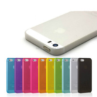 0.3mm Ultrathin Matte PP Hard Case For Apple Iphone 4 4S 5 5S Back cover case hot sale phone case 10 colors