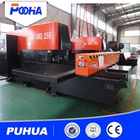cnc lathe tool turret CNC Turret Punching machine of hydraulic for punching different holes
