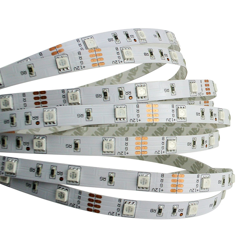 60 <strong>leds</strong> per meter 5050 RGB <strong>Led</strong> strip light 12v