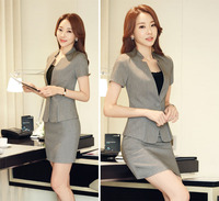 NEW style three kind of uniform teachers hotel receptionist women office uniform