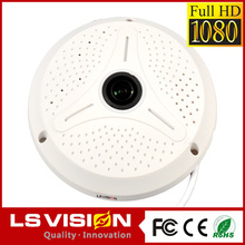 LS VISION door peephole wireless fisy eye ip camera