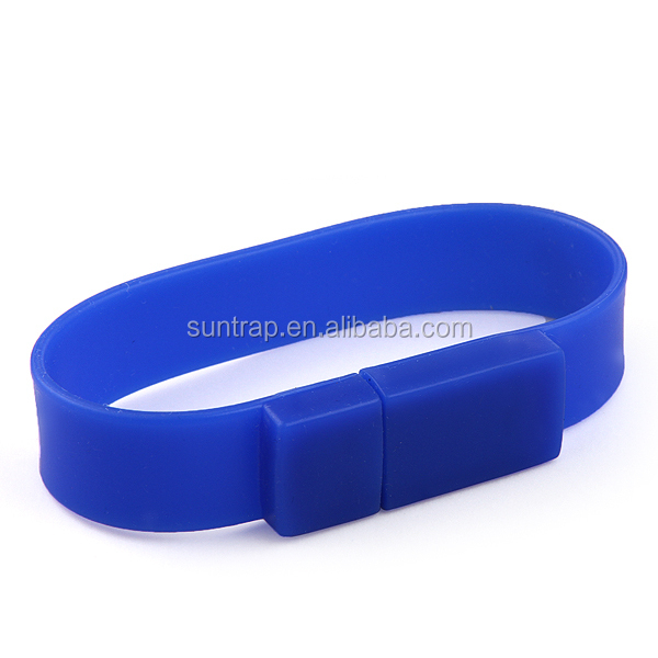 wholesale usb stick silicone wristband 1GB 2GB 4GB 8GB