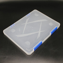 Portable Clear File Storage Box PP File Folder Plastic File Box