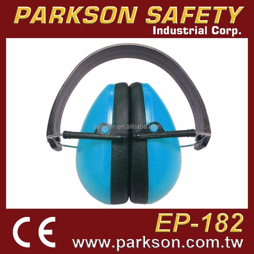 HOT SELL Anti Noise Blue Kid Safety Earmuff With Price CE EN352-1 EP-182