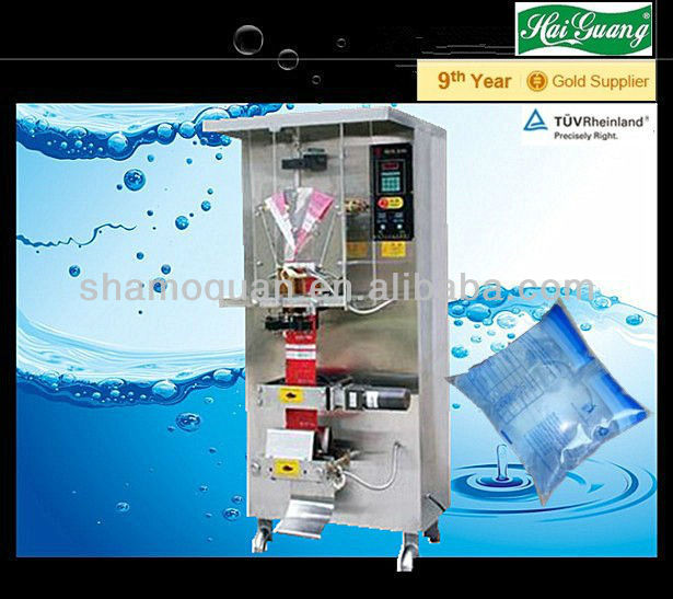 Plastic Bag/Pouch/sachet water filling machine with Photoelectric Switch