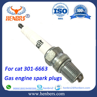 Industrial engine parts spark plug cross reference for cats spark plug 301-6663