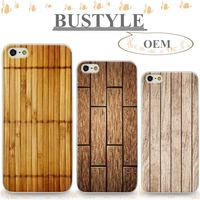 Wood Grain OEM Custom Design MoBile Phone Case for Apple iPhone 5 6 6s plus Screen Protector