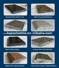 Hot stone table top material