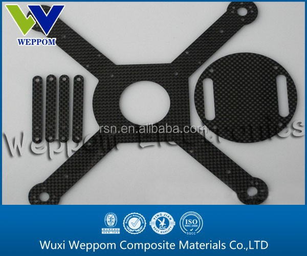carbon fiber quadcopter frame,OEM factory offer CNC cutting carbon fiber clutch plate