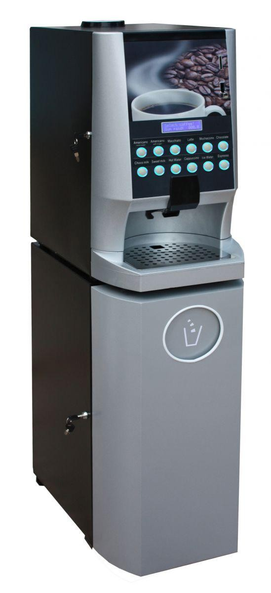2015 High Quality Coffee Vending Machine with Coffee Grinder