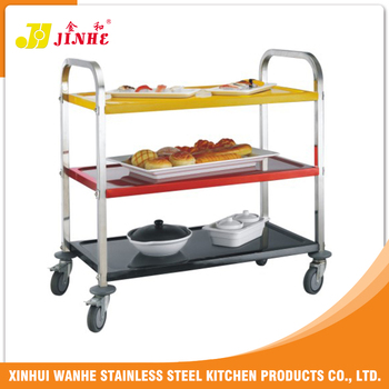quality guaranteed Cheap Prices stainless steel bakery trolley For Restaurant