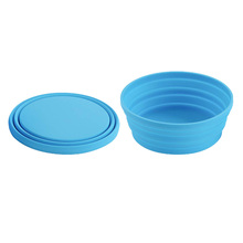 FDA LFGB approval Portable Silicone Large Collapsible Bowl for <strong>Sport</strong>