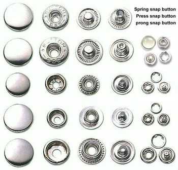 Metal Buttons and rivets