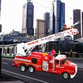 RFE-0506 R/C Shoot Water Fire Engine Vehicle With Charger And Battery